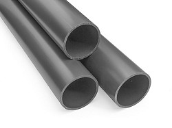 "2 1/2"" Grey PVC Pipe (PN16) 5m Length"