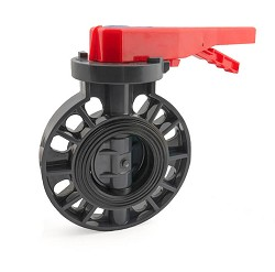 "3"" Industrial Butterfly Valve FPM seal"