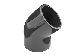 160mm Plain 45 Degree PVC Elbow