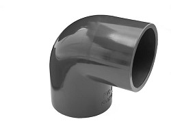 20mm Plain 90 Degree PVC Elbow