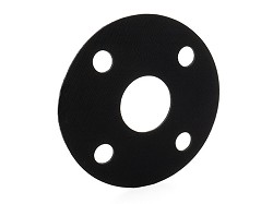 20mm Full Face Gasket EPDM (M12 4 hole PN10/16 drilling PCD 65mm)