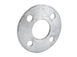 75mm Galvanised Backing Ring (M16 4 hole PN10/16 drilling PCD 145mm)