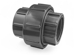 "90mm-3"" Plain Socket : FBSP PVC Union"