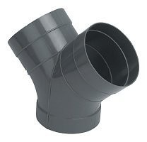 355mm PVC-U Ventilation Y Joint