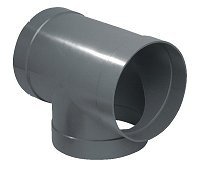 315mm PVC-U Ventilation Equal Tee